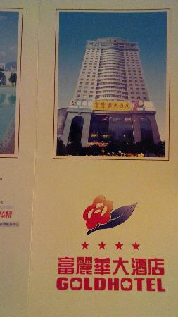 information leaflet of Gold Hotel