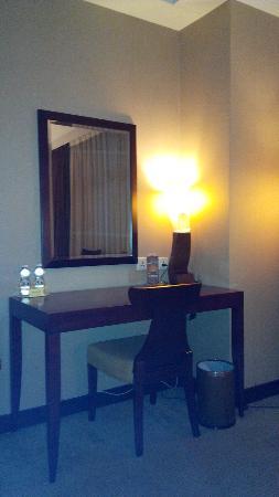 โรงแรมโกลด์: A corner of the hotel room