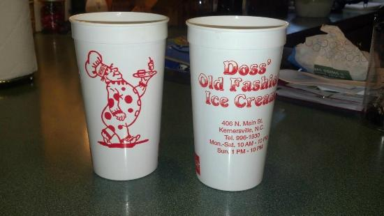 Doss Old Fashion Ice Cream
