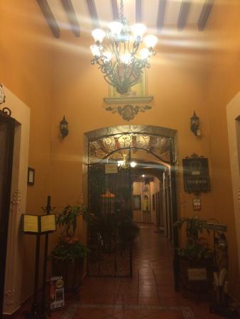 Hotel Boutique Parador San Miguel Oaxaca : Entrada
