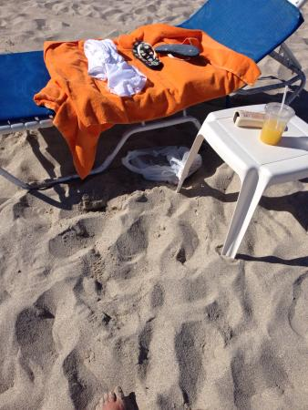 Room Mate Lord Balfour: Beach setup