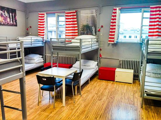 New World St. Hostel: New York Room Dormitory for 10 people with beautiful view on the center