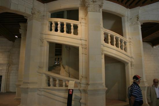 Escalier double vis chambord picture of chateau de chambord chambord tri - Escalier colimacon double niveau ...