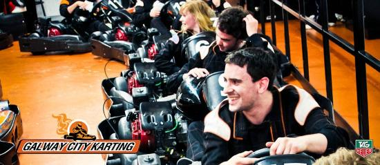 Galway City Karting : All smiles