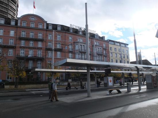 Hotel Schweizerhof Basel: vista dall'esterno