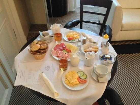 Old Town Square: Ontbijt op de kamer