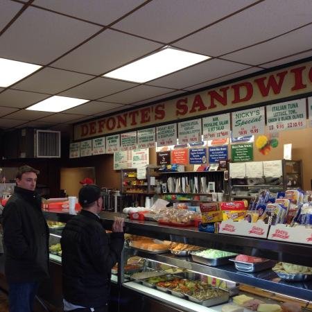 Photo of American Restaurant Defonte's Sandwich Shop at 379 Columbia St, Brooklyn, NY 11231, United States
