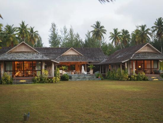 Desroches Island Resort : Une des villas familiales