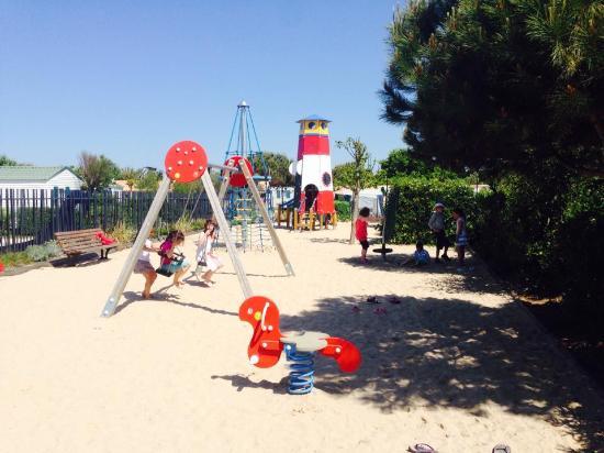 Camping La Plage: Aire de jeux enfants