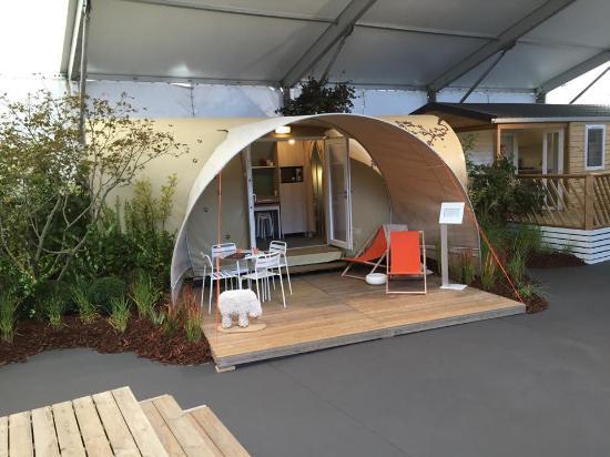 Saint Clement des Baleines, France: Tente Coco Sweet nouveauté 2015 !