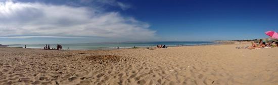 Camping La Plage: La plage de La Conche