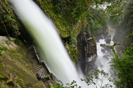 Banos, Ecuador: Paillon del Diablo