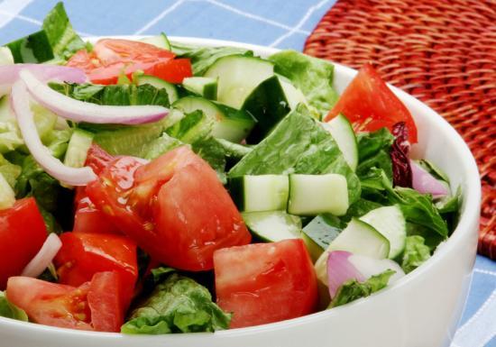 Sirloin Stockade: Salad