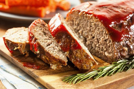 Sirloin Stockade: Meatloaf