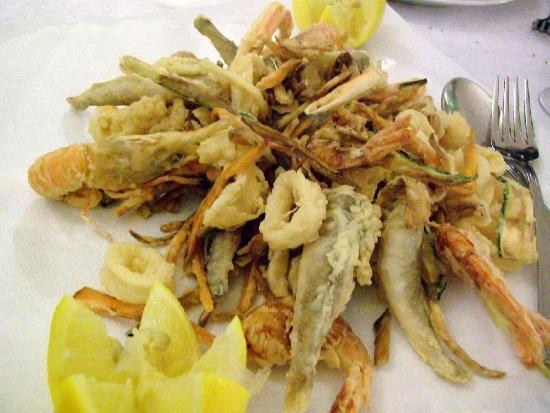 Pastamore&Chiatamone: frittura di paranza