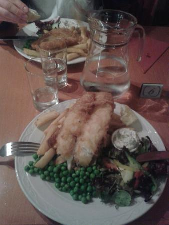 The Laroch Restaurant & Bar: Fish and Chips