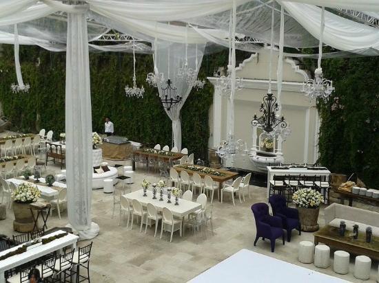 Pensativo House Hotel : Terrace for weddings