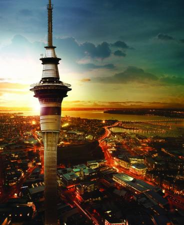 Photo of Monument / Landmark Sky Tower at Corner Victoria And Federal Sts, Auckland, New Zealand