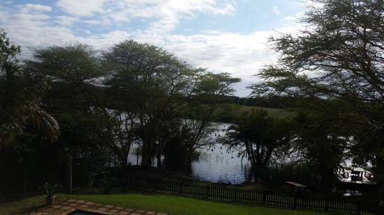Eden River Lodge: View from the balcony