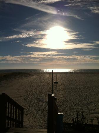 Beach Haven: White powder sand beach - beautiful sunsets