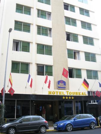Best Western Hotel Toubkal: frontside of hotel