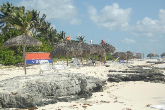 Gran Caribe Club Coral: spiaggia hotel