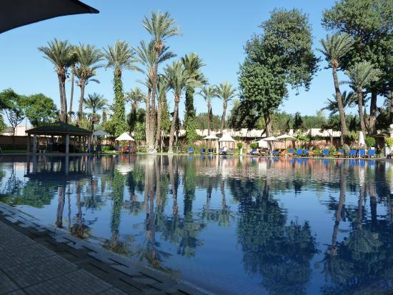Royal Mirage Deluxe Marrakech: view of the pool