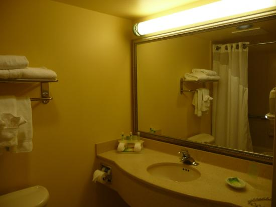 Holiday Inn Express & Suites Fort Lauderdale Airport West: Baño