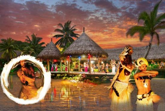 Muri, Islas Cook: Be surprised by this Spectacular show every Tuesday, Thursday and Saturday night
