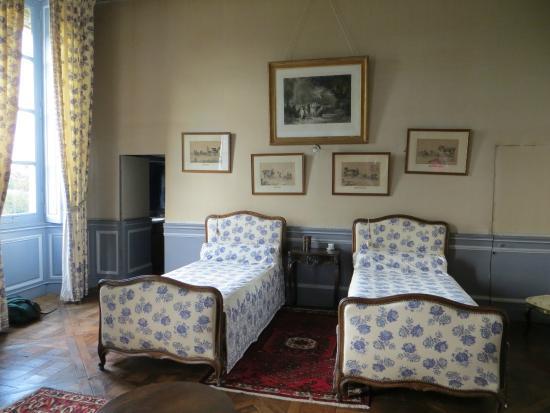 Château de Craon: The Blue Room