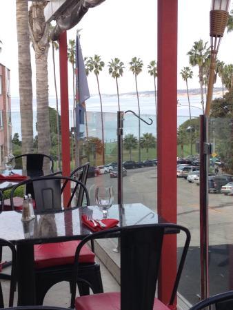 Stella Italianfare La Jolla: View from patio overlooking the Pacific