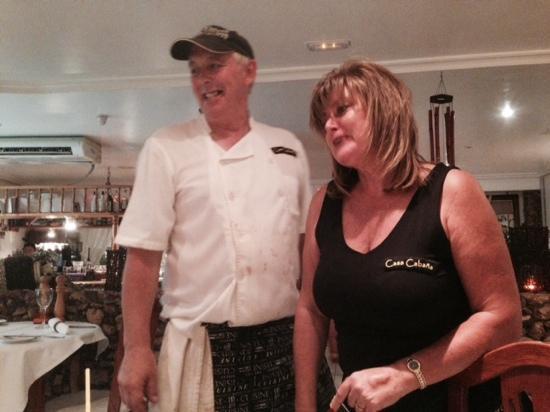Casa Cabana: Our lovely hosts