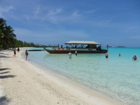 Rarotonga Beach Bungalows: Vaka Titi ai Tonga boat cruise, Aitutaki