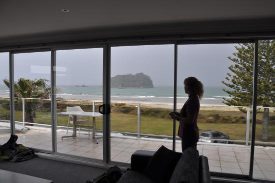Belle Mer Beachfront Apartments: The view