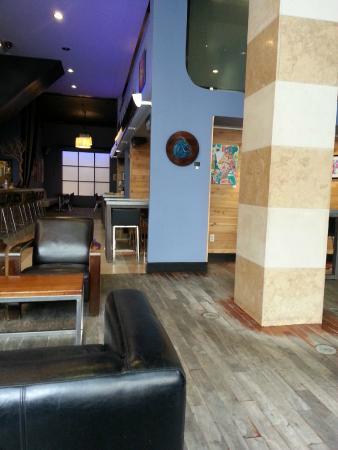 Sugar Cafe : Área interna