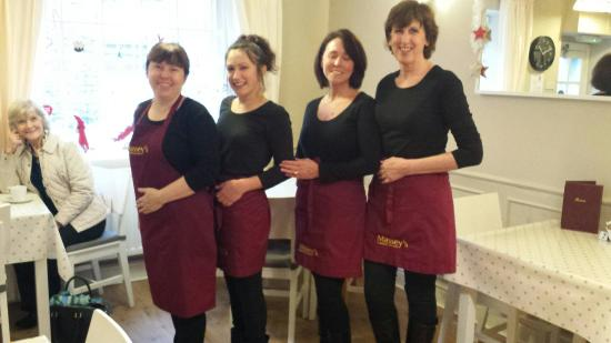 Massey's traditional tea room: MONDAY TEAM AT MASSEY'S
