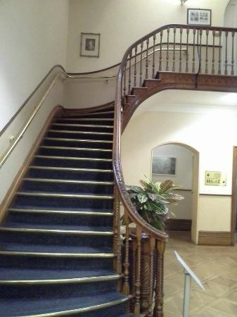 Salomons Estate: staircase in reception