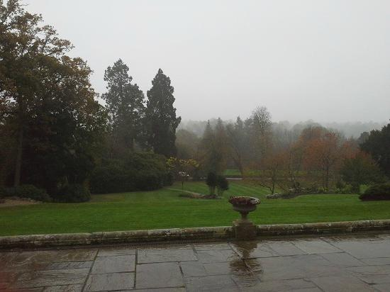 Salomons Estate: view from dining area