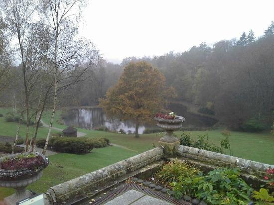 Salomons Estate: view from the patio