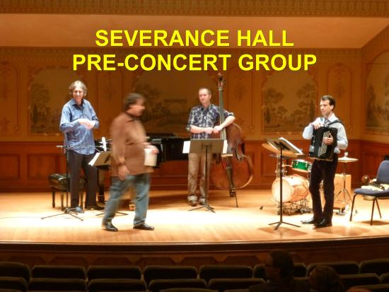 Cleveland Orchestra at Severance Hall: Pre Concert