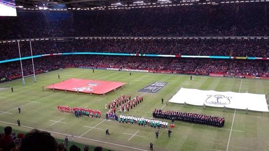 Principality Stadium : Wales v Fiji