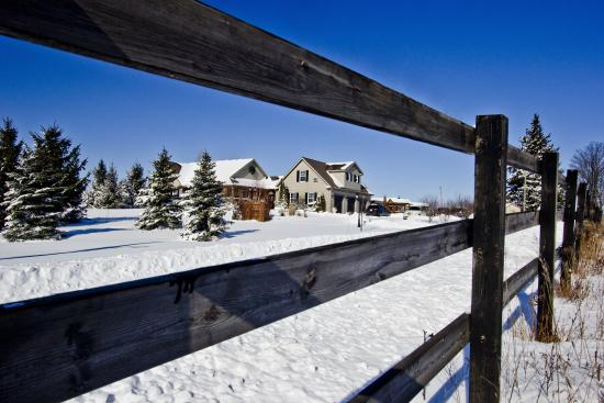 Serenity Ranch Bed and Breakfast: Serenity Ranch - warm and cozy for a winter getaway.