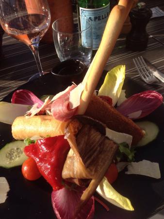 Le Saint Trop: Italian salad