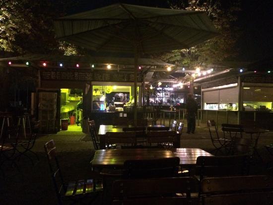 Hafen Konstanz: Biergarten