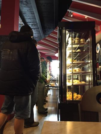 Global Byte Cafe: Food line