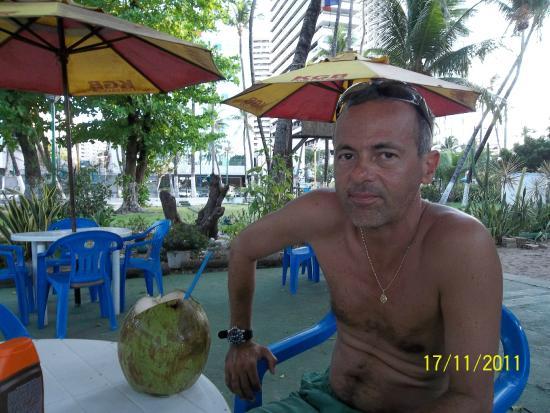 Meireles Beach: Quiosque na praia