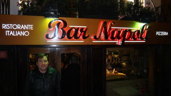 Bar Napoli, Edimburgo