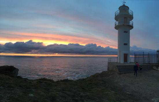 Cabo Touriñán: Impresionante puesta de sol
