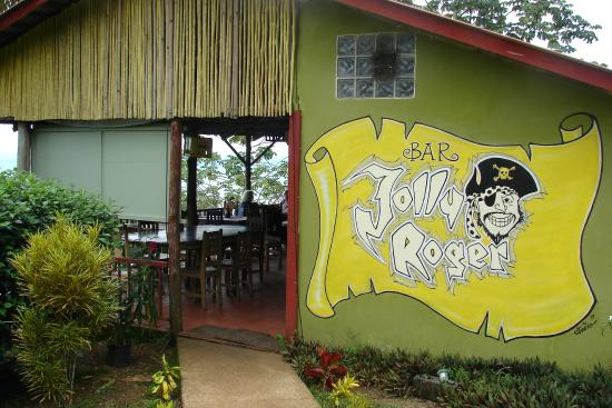 Jolly Roger: Entrance to bar