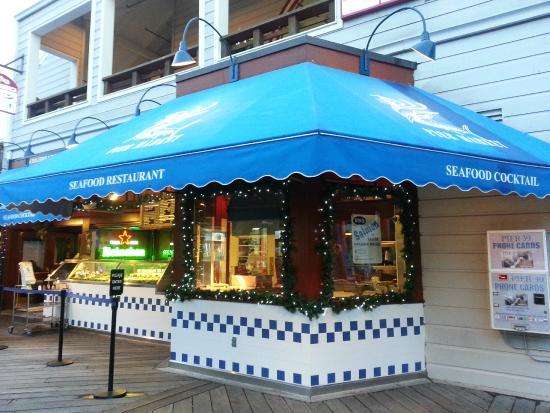 Frente do restaurante foto di pier market seafood for San francisco fish market